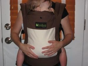 boba babywearing carrier