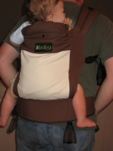 boba babywearing soft structured carrier